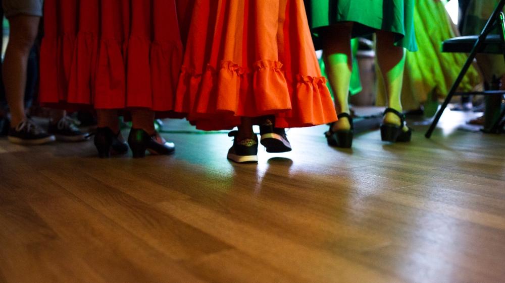 Dancers at UpBeat on Jackson